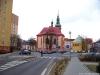 Růžové náměstí v Sokolově