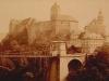 Hrad Loket v roce 1870